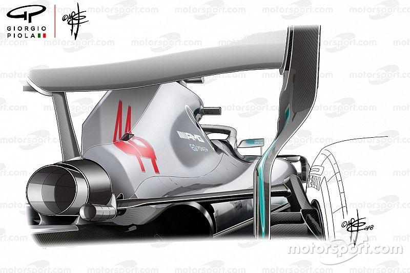 Así serían los nuevos espejos retrovisores de la F1