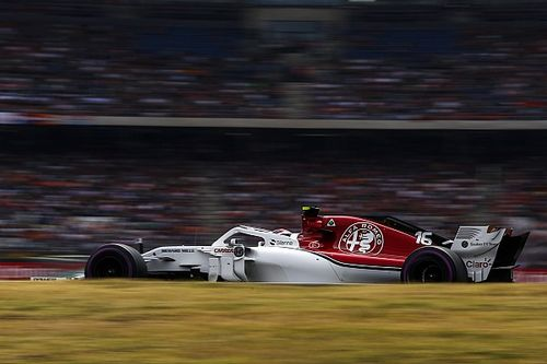 Auch Leclerc macht Fehler: Sauber mit zwei geteilten Rennen