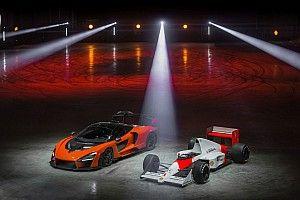 Egy ex F1-es pilóta összetörte az elképesztően ritka McLaren Senna LM szuperautóját