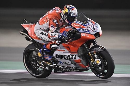 "Dovizioso ""surely"" favourite for Qatar win, say rivals"