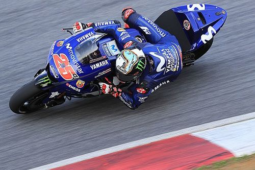 Vinales leads Rossi on Day 2 of Sepang test