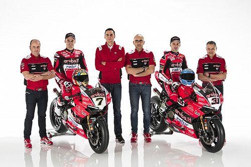 Ducati modifie son organisation technique en WSBK
