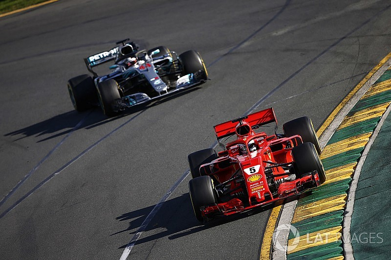 Hamilton blames engine limit for early end to Vettel fight