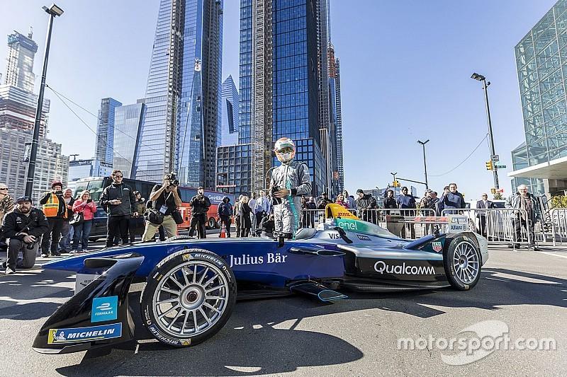 La Formula E è già stata in azione a... New York!