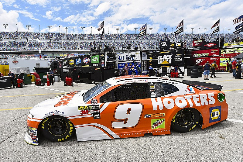 NASCAR in Daytona: Chase Elliott mit Verspätung auf Pole-Position
