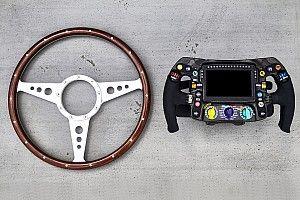 Vídeo: la evolución de los volantes en la Fórmula 1