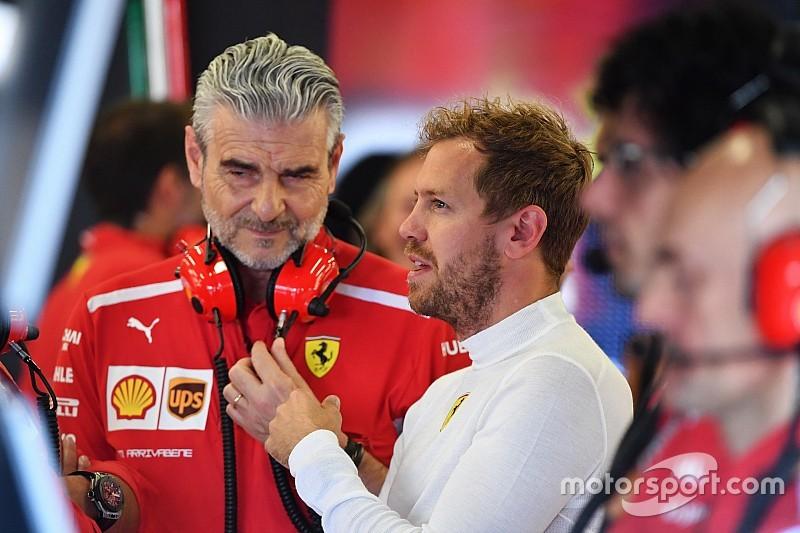 Arrivabene: Vettel ainda será campeão mundial com a Ferrari