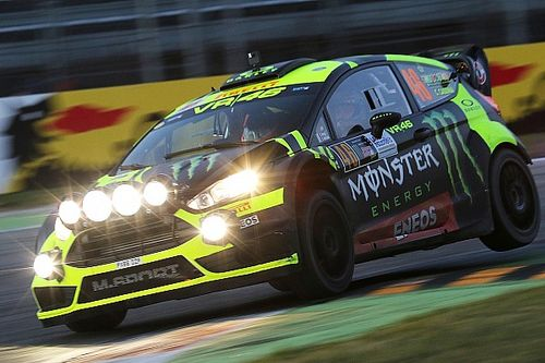 Rossi, sancionado en la primera jornada del Monza Rally Show