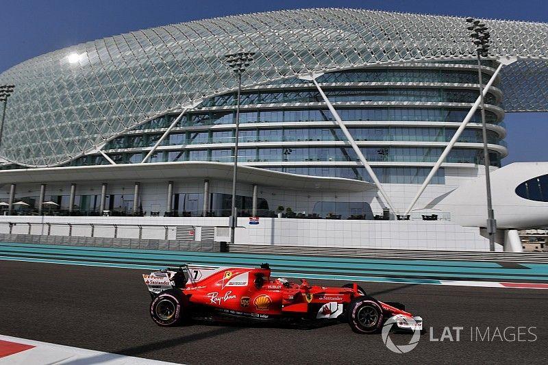 Raikkonen snelste tijdens eerste testdag Abu Dhabi
