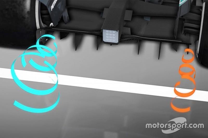 Animazione Mercedes: ecco perché Hamilton ha perso carico in Messico