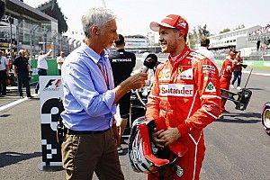 """Hill sobre Vettel: """"Cuando llegas a la cima, solo puedes ir hacia abajo"""""""