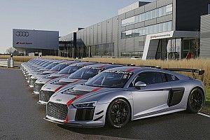 Serah terima konsumen Audi R8 LMS GT4