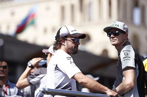 """Hulkenberg: """"Alonso es un piloto muy experimentado, sabe lo que hace"""""""
