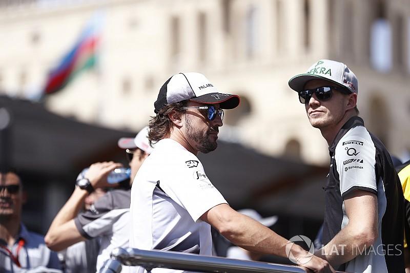 "Hulkenberg advierte a Alonso: ""Es muy agotador competir en F1 y WEC"""