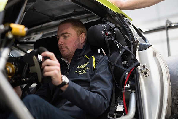 British GT Breaking news Martin becomes latest Aston Martin driver in British GT