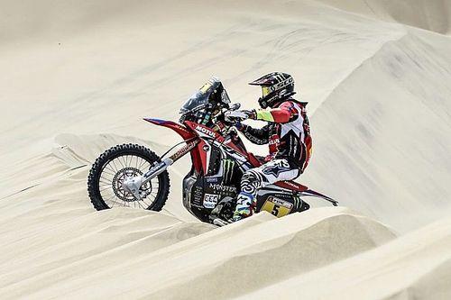 Dakar, Moto, Tappa 2: Barreda si prende la speciale e la vetta