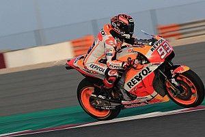 Belum maksimal di Qatar, Marquez cari set-up terbaik