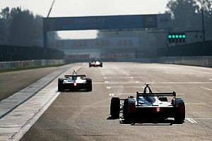La grille de départ de l'E-Prix de Mexico