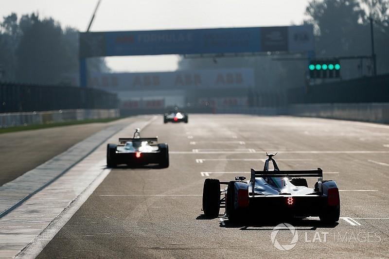 La griglia di partenza delll'ePrix di Città del Messico