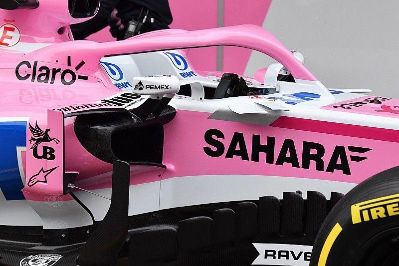 Pemex se estrena en el Force India de Sergio Pérez