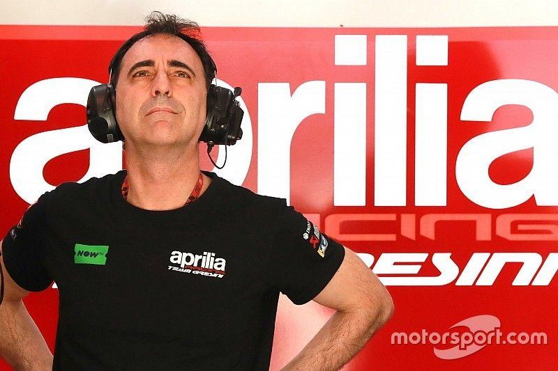 """Aprilia sugiere que hay que """"ayudar a decidir"""" al director técnico de MotoGP"""