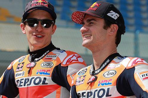 """Marquez su Pedrosa: """"E' impossibile guidare la nostra moto se non sei motivato"""""""