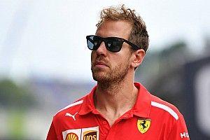"""Vettel: """"Non ho visto arrivare Sainz e il team non mi ha avvertito per radio!"""""""