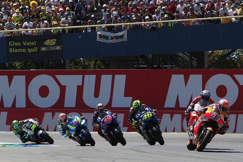 Rossi ve a Márquez como en su dominante temporada 2014 de MotoGP