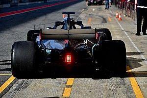 Mercedes teste des LED à la demande de la FIA