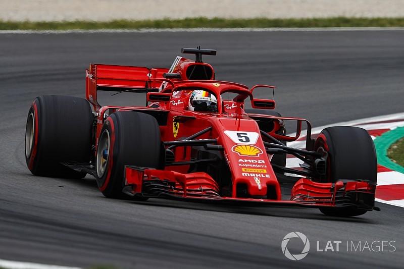 Vettel: Mercedes bugün biraz daha hızlıydı