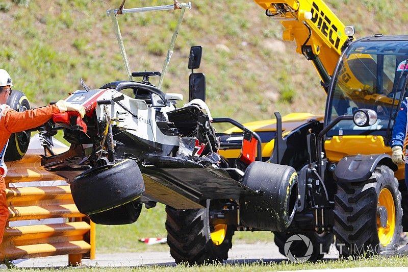 El trompo de Grosjean acarrea sanción para Mónaco