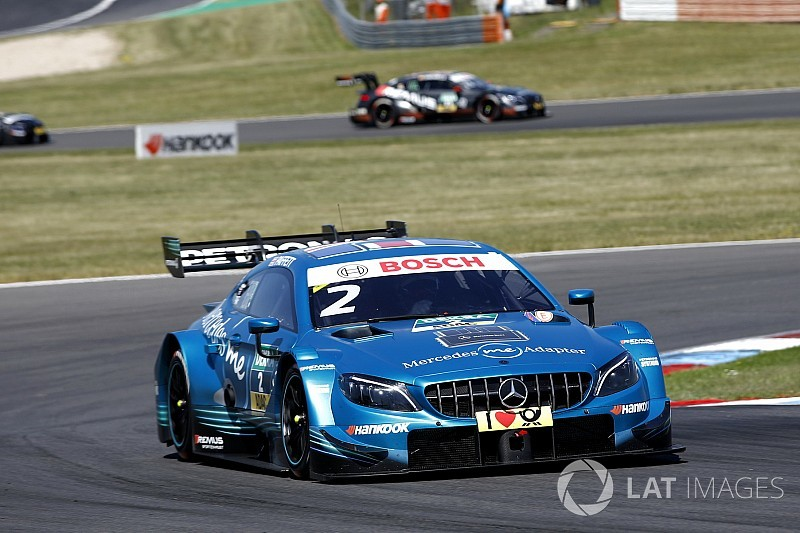 Lausitz DTM: Paffett leads Wittmann in Race 2