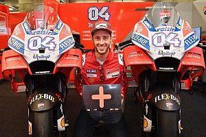 RESMI: Dovizioso dua musim lagi bersama Ducati