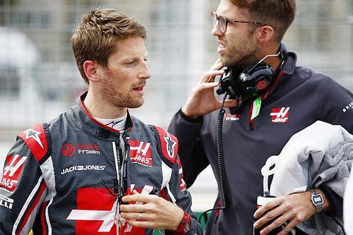 Grosjean: esbarrão em botão do volante originou acidente