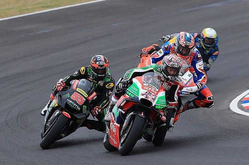 Espargaro in Twitter spat with Pramac over Petrucci clash