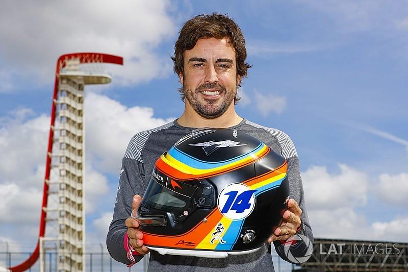 Helm baru Alonso, Sainz, Hartley di GP Amerika Serikat
