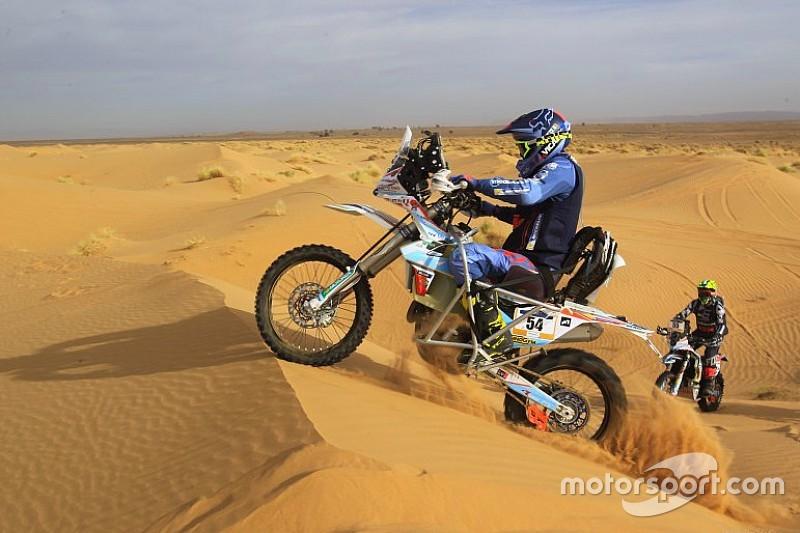Nicola Dutto, le motard paraplégique qui a participé au Dakar 2019
