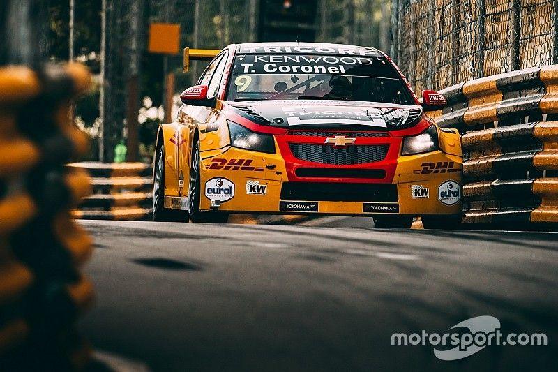 WTCC Macau: Coronel op podium in openingsrace, winst voor Bennani