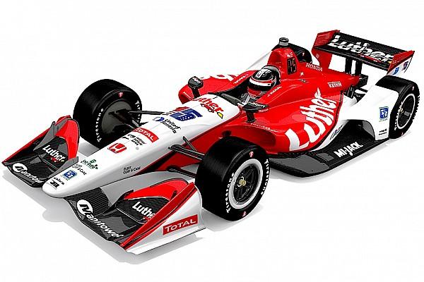 Equipo RLLR anuncia nuevos colores para auto de  Rahal