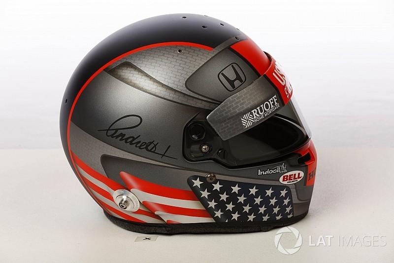 Galería: los cascos de los pilotos de IndyCar para la temporada 2018