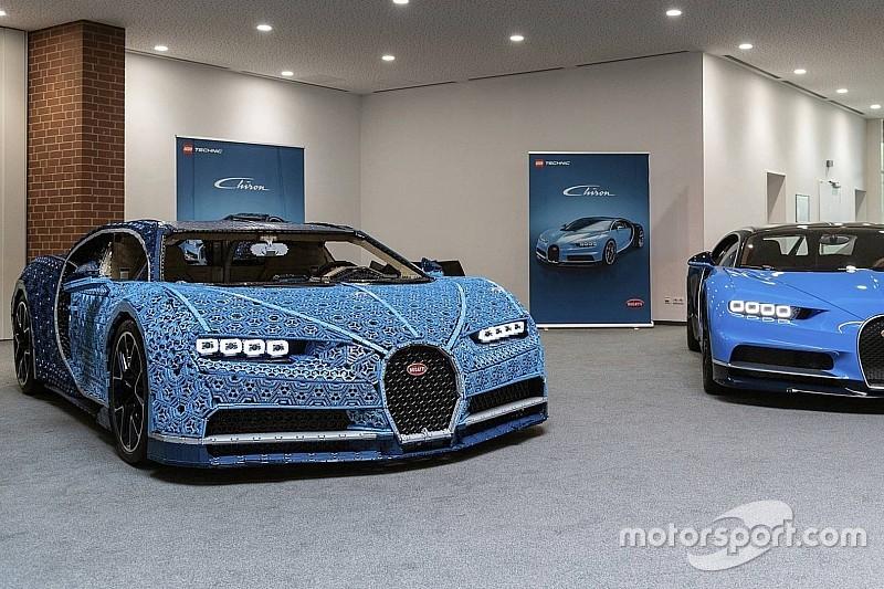 З Lego Technic зробили майже справжній Bugatti Chiron