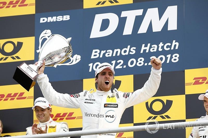 DTM Brands Hatch: Juncadella overtuigend naar eerste zege