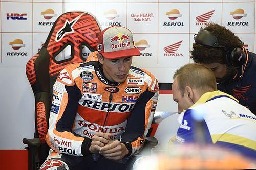 """Marquez: """"We kunnen in deze omstandigheden niet racen"""""""