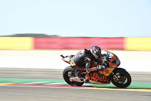 Moto2 Aragon: Binder pakt tweede zege, Bagnaia doet goede zaak in titelstrijd