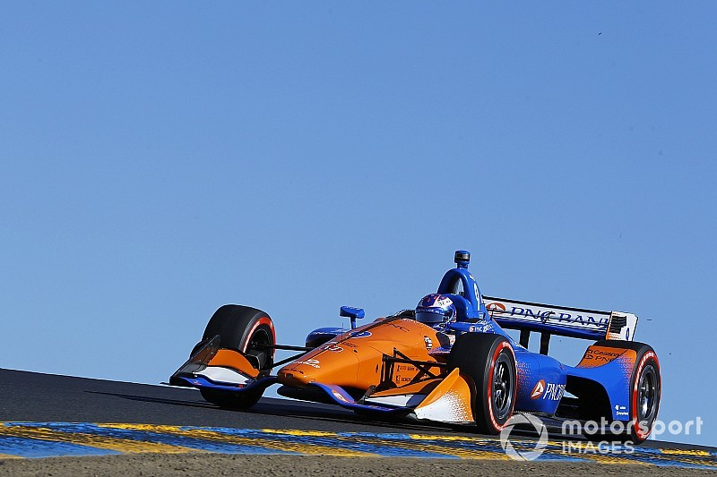 "Dixon: ""Huge"" error cost me pole for Sonoma title decider"