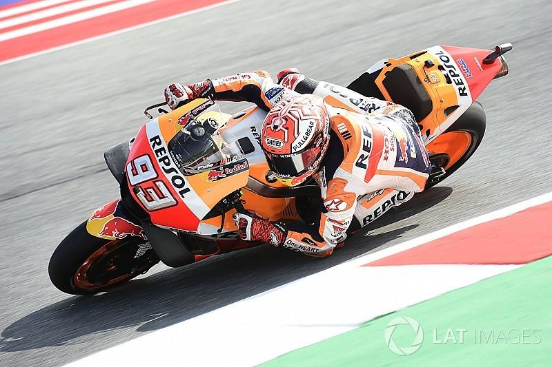 Warm-up - Márquez et les Ducati dans un mouchoir