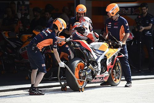 Honda, KTM e Aprilia sono rimaste a Misano ieri per una giornata di test privati