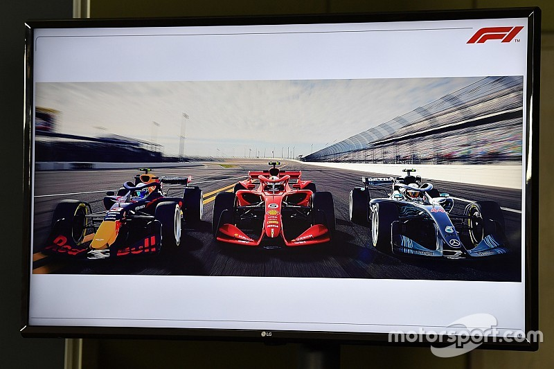 2021 konsept F1 aracına dair yeni görüntüler yayınlandı