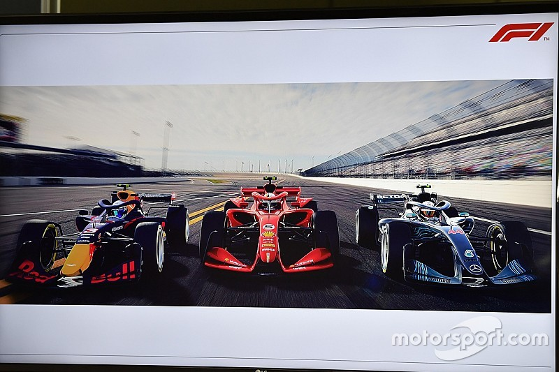 La Fórmula 1 revela más detalles de los prototipos de 2021