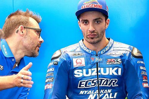 Iannone espère être traité de la même façon que Rins par Suzuki